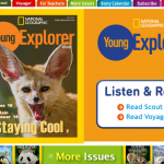 National Geographic Young Explorer